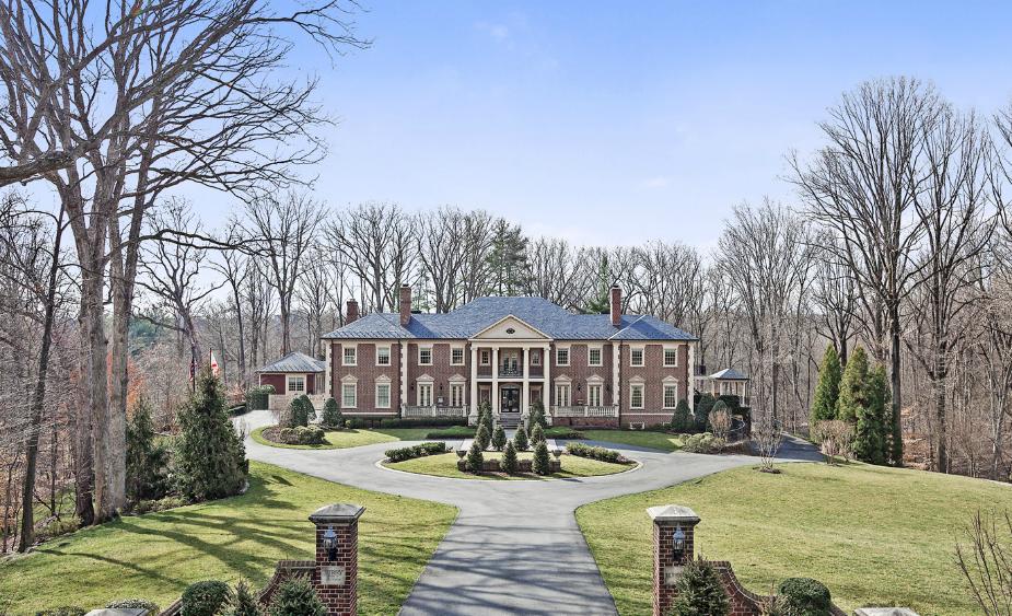 15 000 Square Foot Georgian Mansion In McLean VA