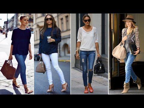 2a3124c08e Como combinar jeans con botines - YouTube Como Combinar Jeans