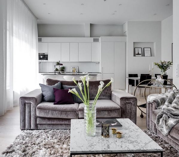 Vitt marmorbord med svart stålram Marmor, bord, soffbord, svart, ram, stål, vardagsrum, sovrum