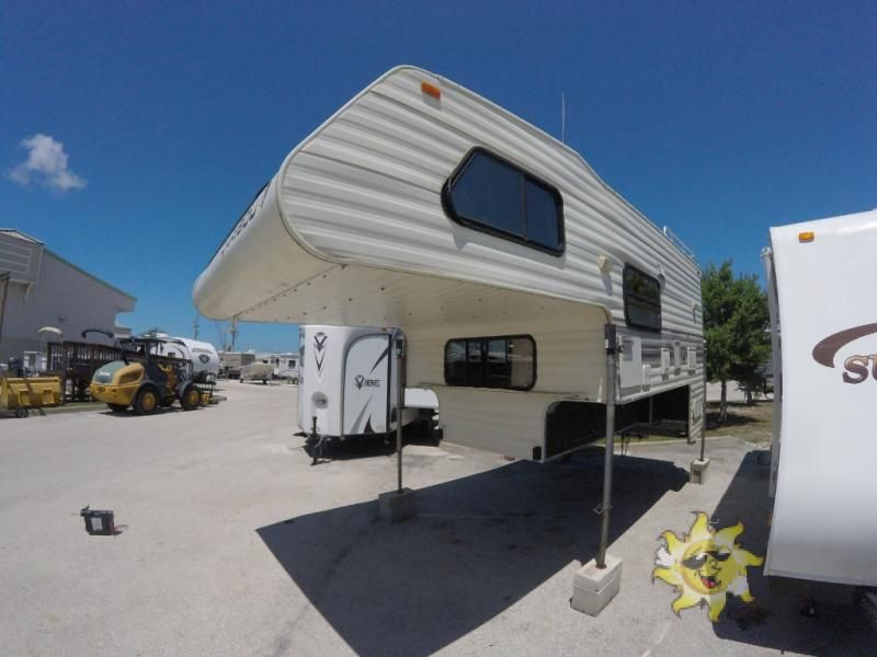 Used 1993 Fleetwood RV CARIBOU 10FX Truck Camper at Sun