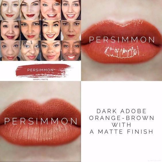 Brand New, Sealed Tube of Persimmon LipSense Color Only. Dark Adobe Orange-Brown with Matte Finish. *Price Firm ... Retail Value $25