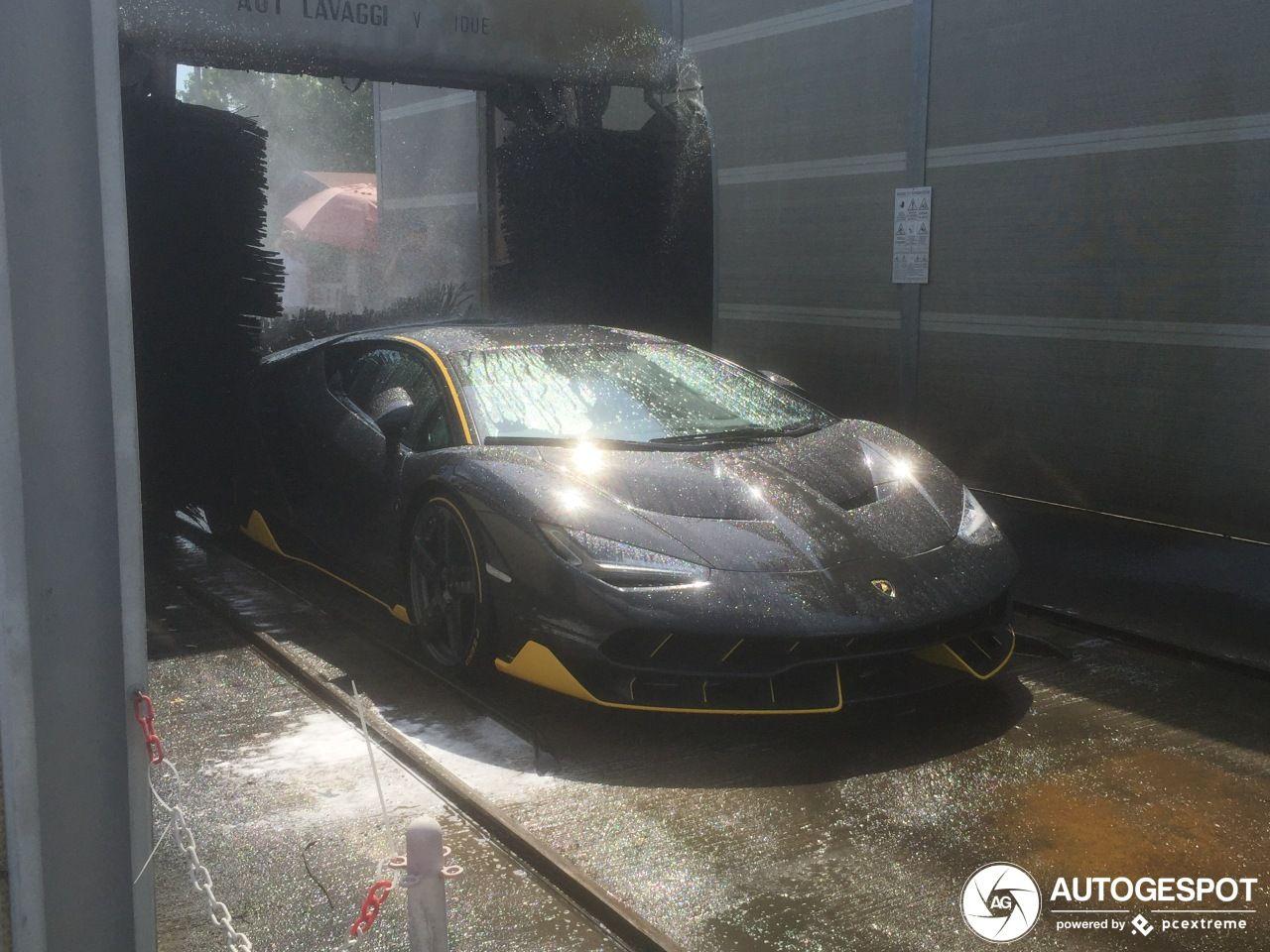 2 Million Lamborghini Centenario Goes Through Automatic Car Wash Automatic Car Wash Lamborghini Centenario Automatic Cars
