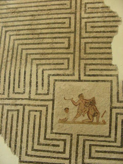 laberinto en Tunez, siglo III-IV dC