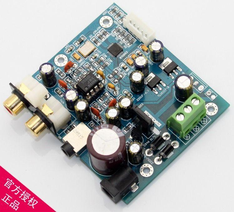 ES9018K2M I2S digital input audio DAC decoder (compatible