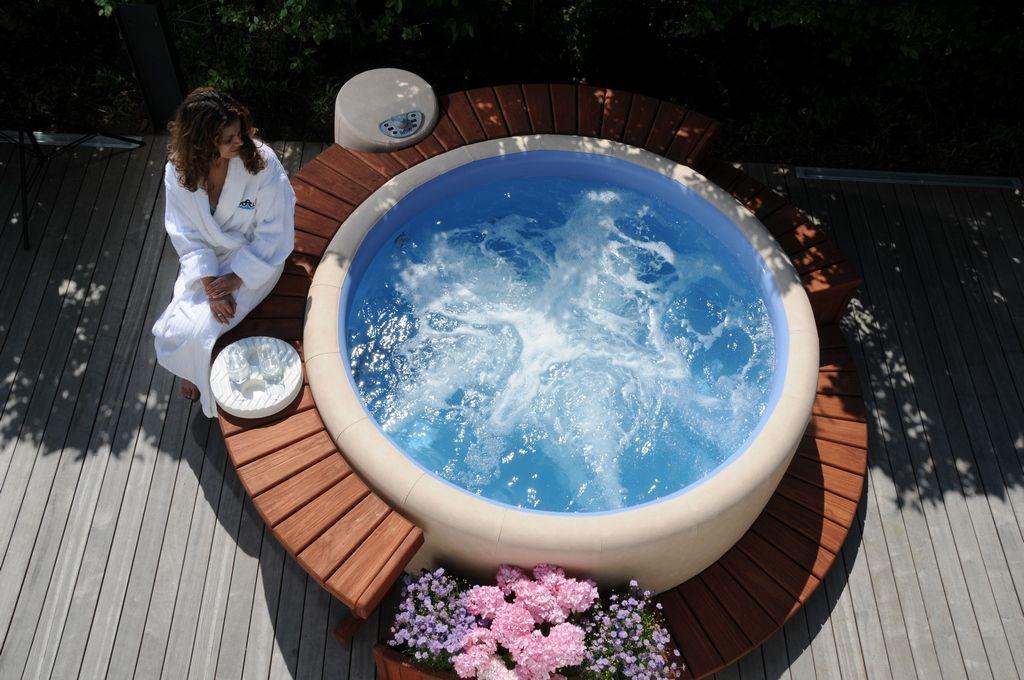 Softub Whirlpools Erholung für Garten und Dachterrasse