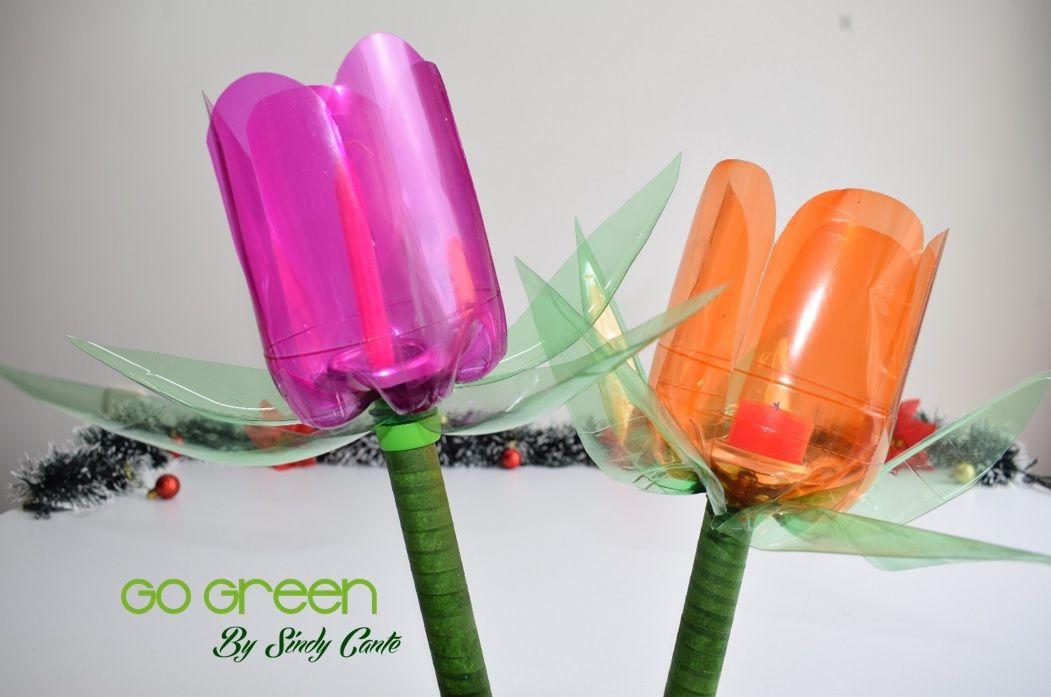 Faroles para navidad con botellas de pl stico for Adornos navidenos hechos con botellas plasticas