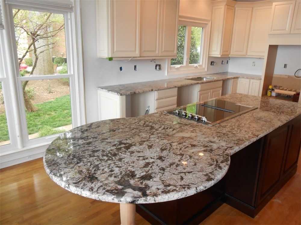 Granit arbeitsplatten  Padang Monte Bianco TG-99 Granit Arbeitsplatten http://www.granit ...