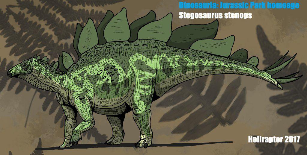 Stegosaurus Stenops By Hellraptor Deviantart Com On