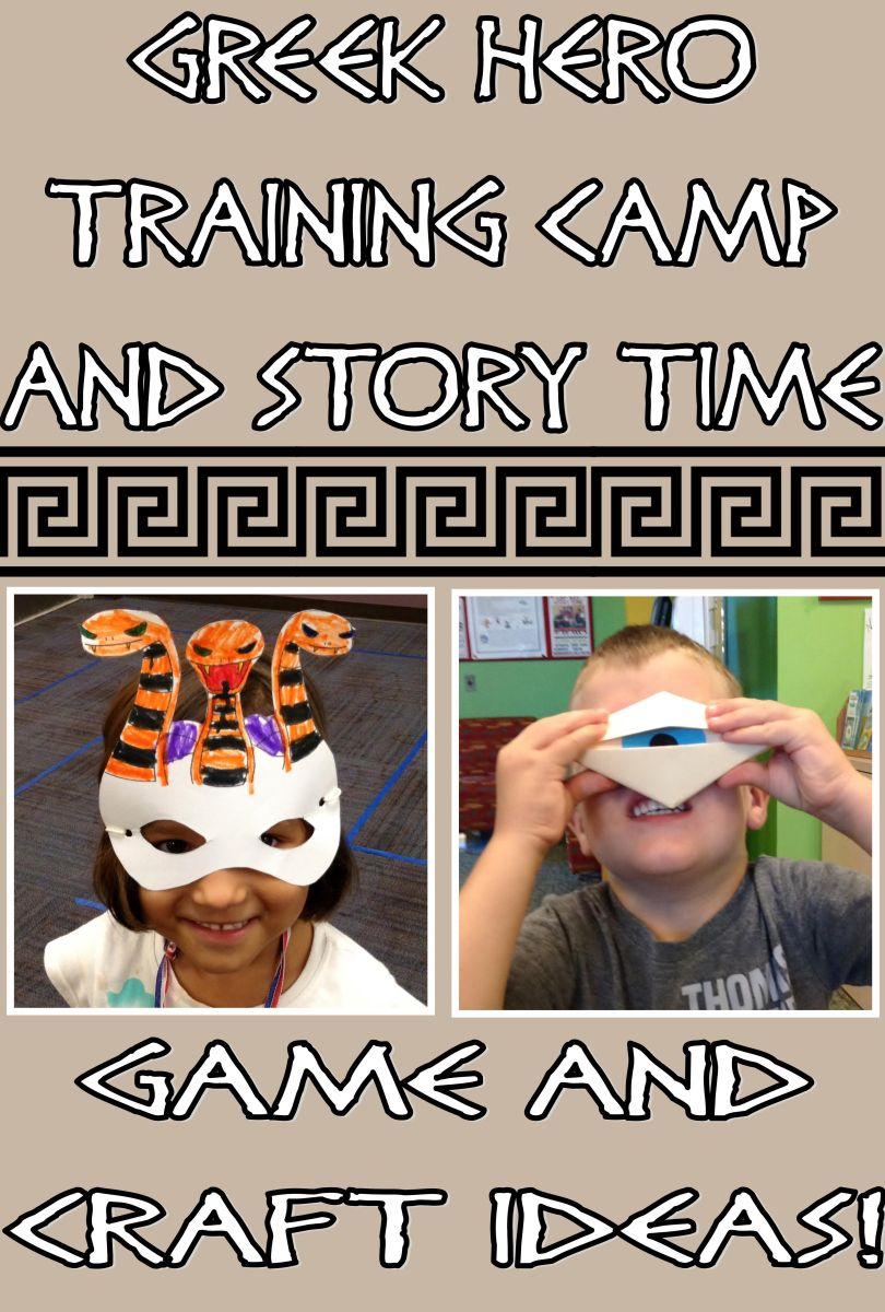 Greek hero training camp and story time program ideas great for greek hero training camp and story time program ideas great for percy jackson party publicscrutiny Images