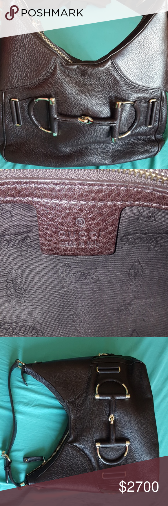 c45b30204676 AUTHENTIC Gucci Purse Unused. In brand-new condition. No flaws. 100%  Genuine Leather. Made in Italy. Small zipper inside. Box & original tags  not included. ...