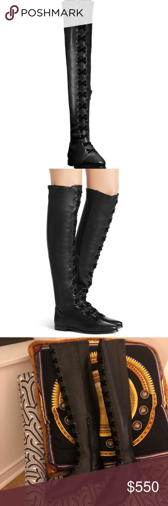 31d4d3872a5 Stuart Weizmann Saga boots Heel height  .75