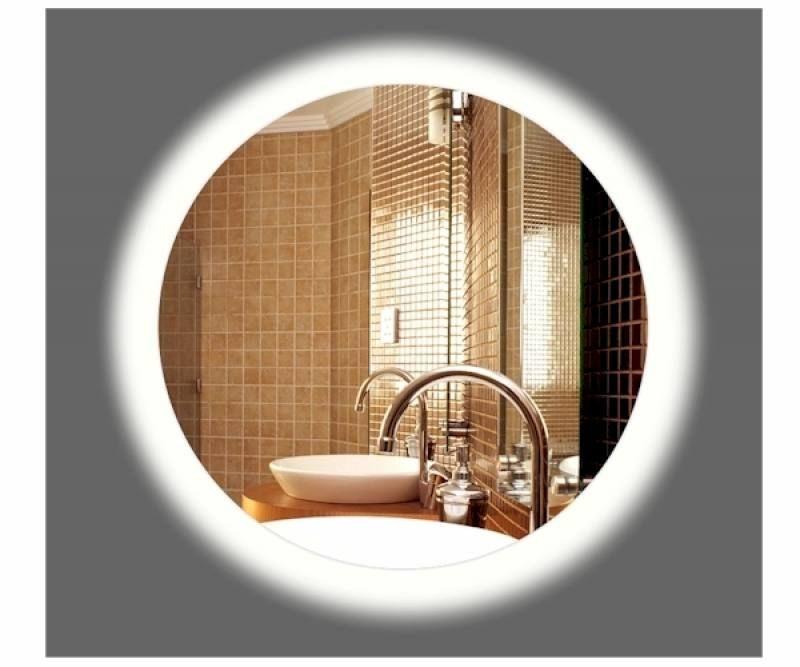 Badkamerspiegel LED Amsterdam rond 45cm - op maat gemaakte spiegel ...