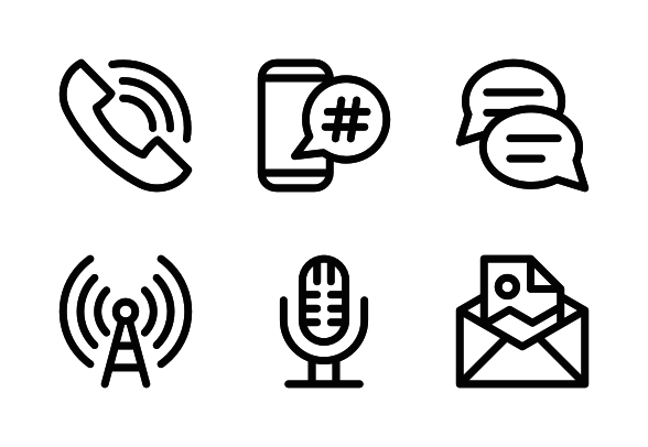 Communication Icons By Alleatha Communication Icon Icon Communication