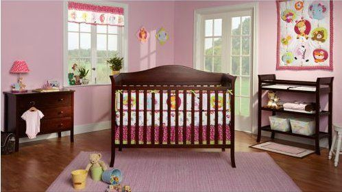 Baby Mod - Bella 4-in-1 Fixed Side Crib, Changing Table and Clothing ...