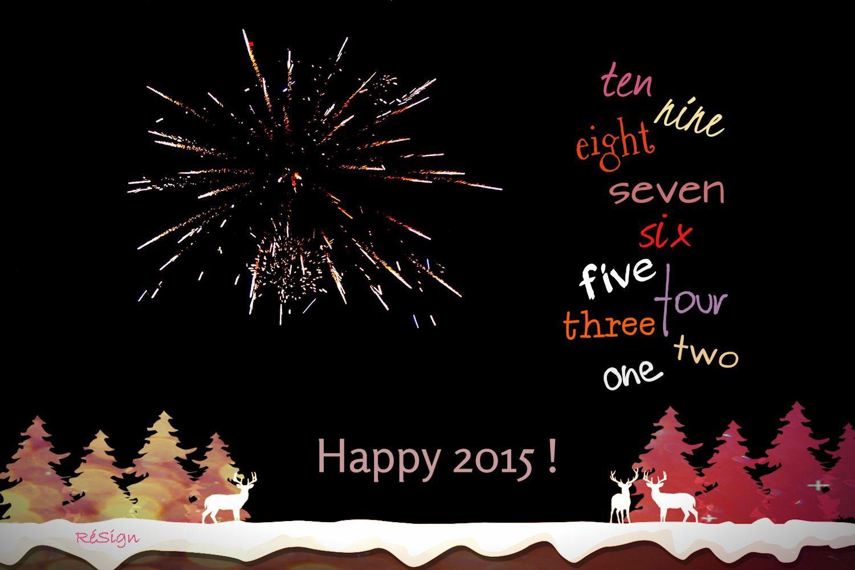 Happy New Year! fireworks