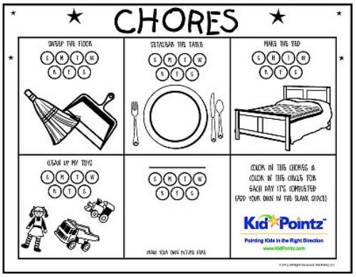 14 Creative Chore Charts for Kids (of all ages) Itu0027s All About - progress chart for kids