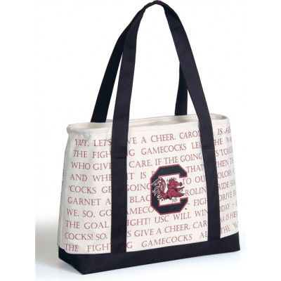 South Carolina Gamecocks Fight Song Cooler Tote Bag ...