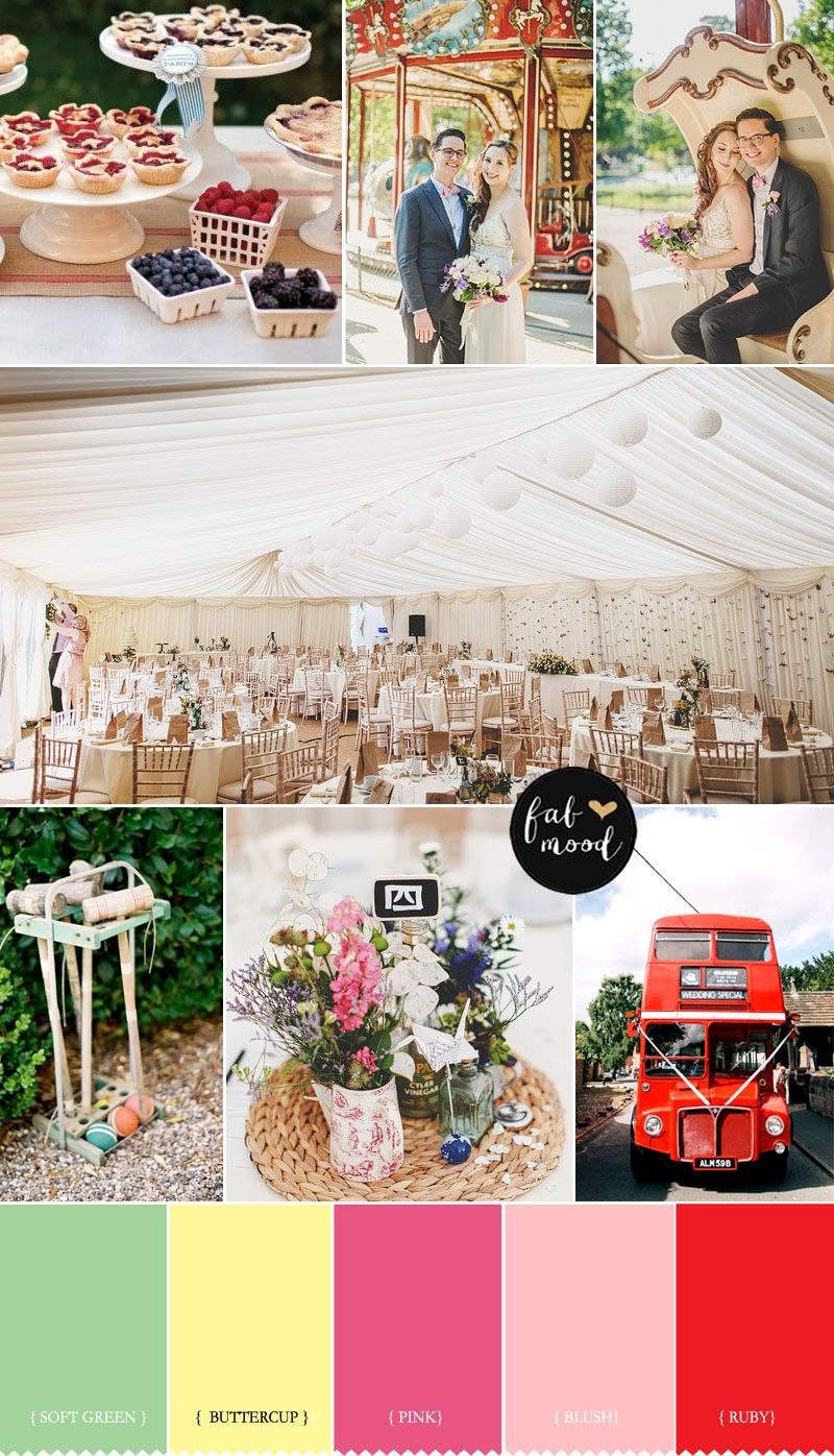 Summer Fete Wedding Theme Unique And Fun Theme Wedding Ideas