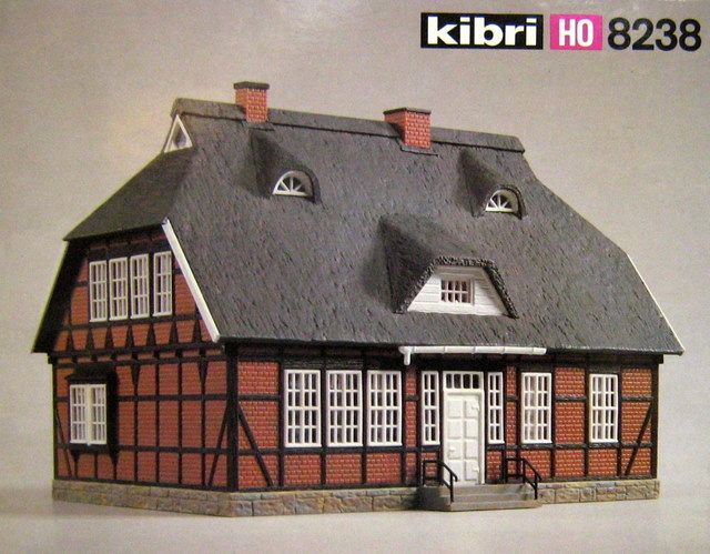 Hard to Find Model Kits | KIBRI # 8238 - HO SCALE PLASTIC