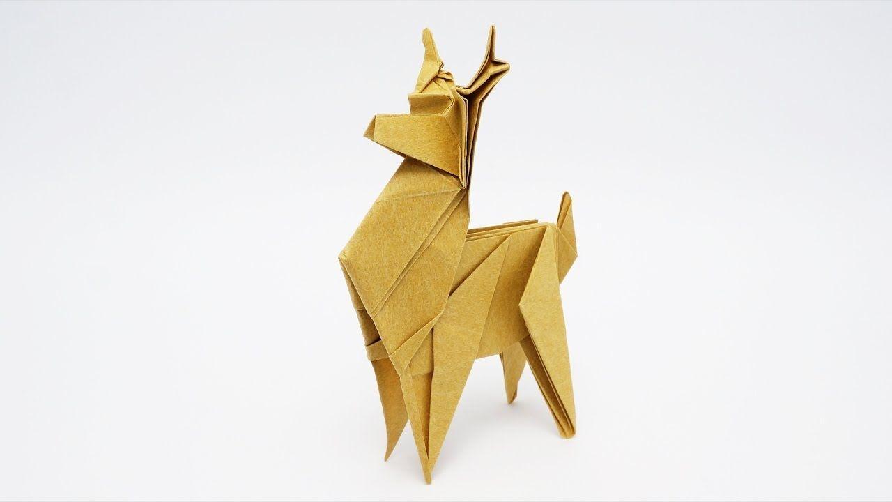 Origami reindeer jo nakashima origami pinterest origami origami reindeer jo nakashima jeuxipadfo Image collections
