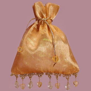 Indian Wedding Favors - Beaded Favor Bags - Set of 10 $19.95 ...