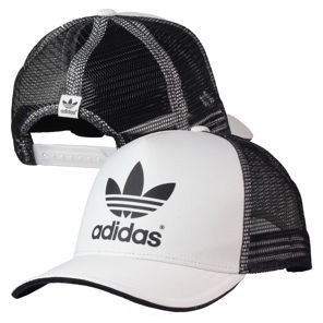 Adidas - AC Trucker Cap Run White Black Sapatos 84ad44c481e