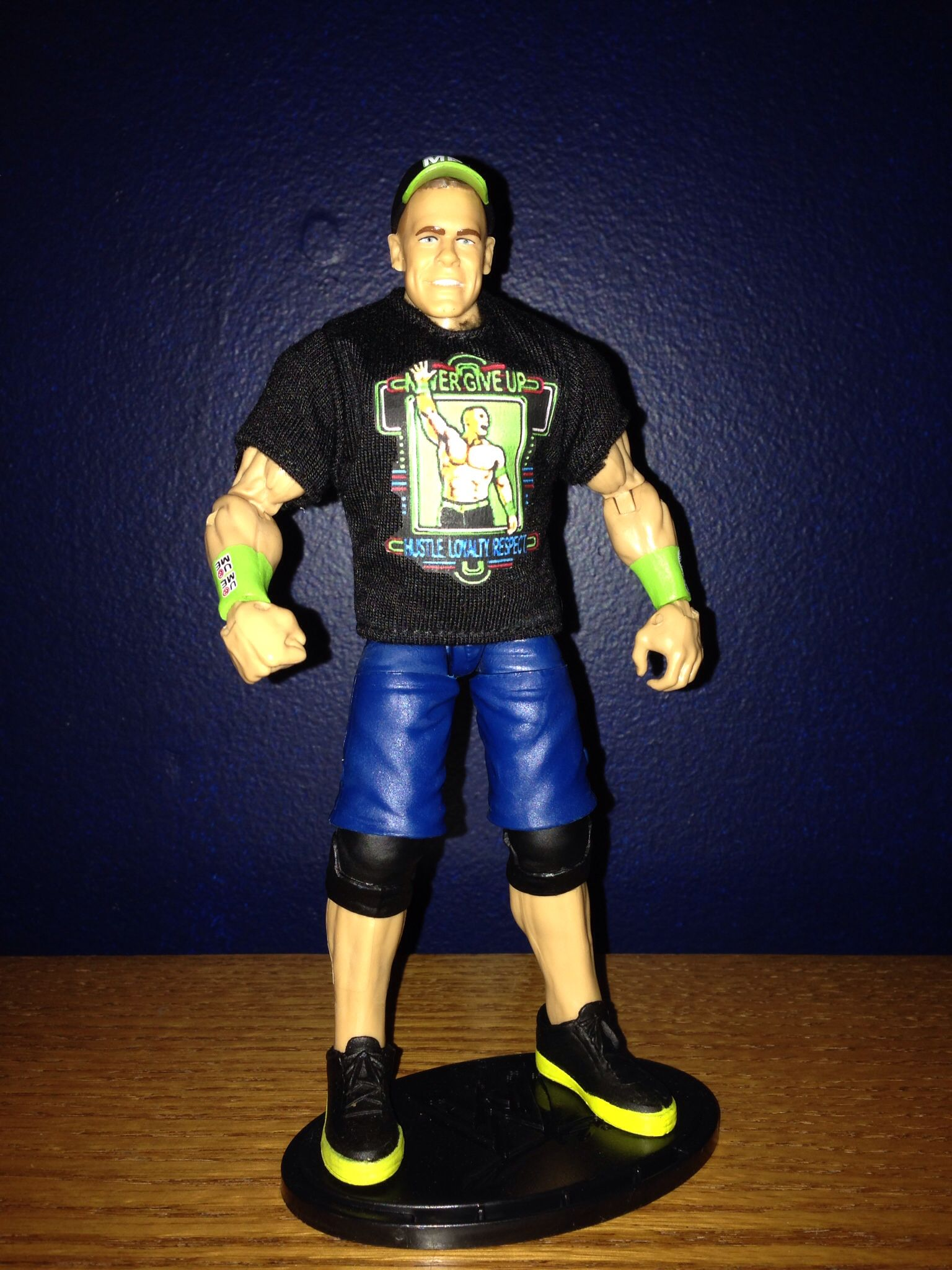 how to make a custom wwe action figure