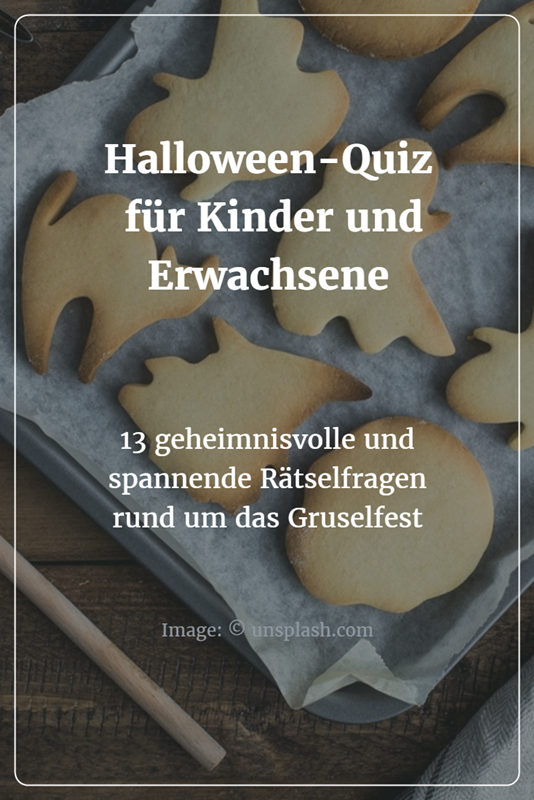 halloween quiz f r kinder und erwachsene feste und. Black Bedroom Furniture Sets. Home Design Ideas