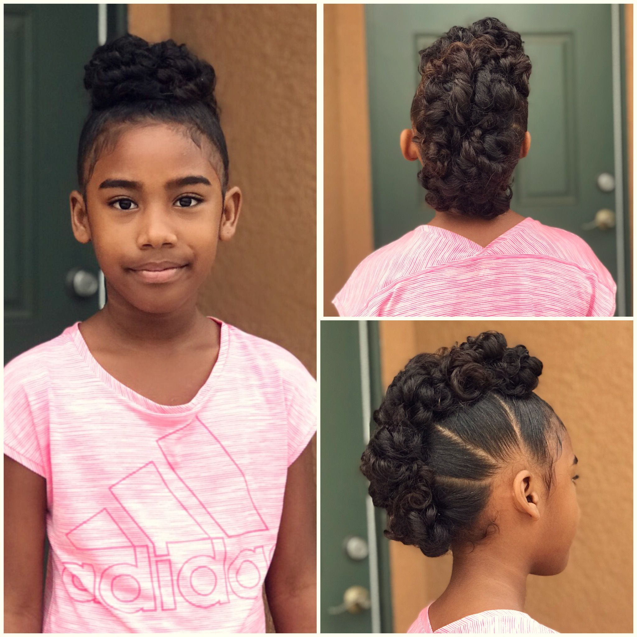 mixed hair, curly, curly hair, curly mohawk, blasian, twisty