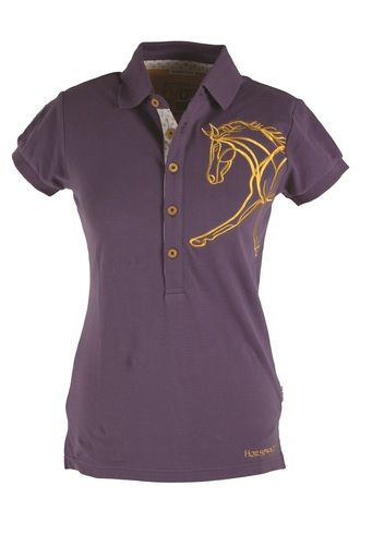 Horseware Ireland Flamboro Polo Shirt Lightweight Breathable Cotton