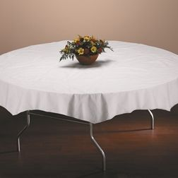 Tissue Disposable Table Covers For Round And Octagonal Tables Like