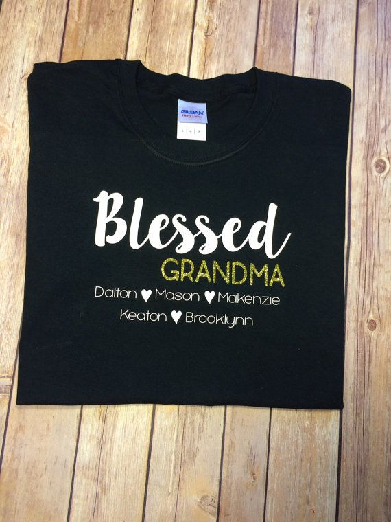 f85248ab Blessed Grandma shirt Mother's day gift by KatrinaKreates Grandmas Mothers  Day Gifts, Mothers Day Shirts