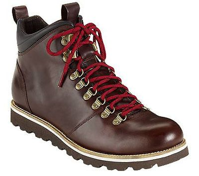 NEW Cole Haan AIR HUNTER ALPINE Redwood Leather HIKING Boots Mens ...