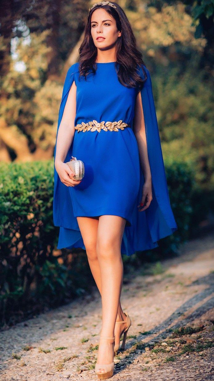 c75546a9a  invitada - Alquila éste  vestidocapa en azul pavo de  dresseos en  dresseos.com  fashionblogger  amimera  lainvitadaperfecta   yosoyunachicadresseos ...