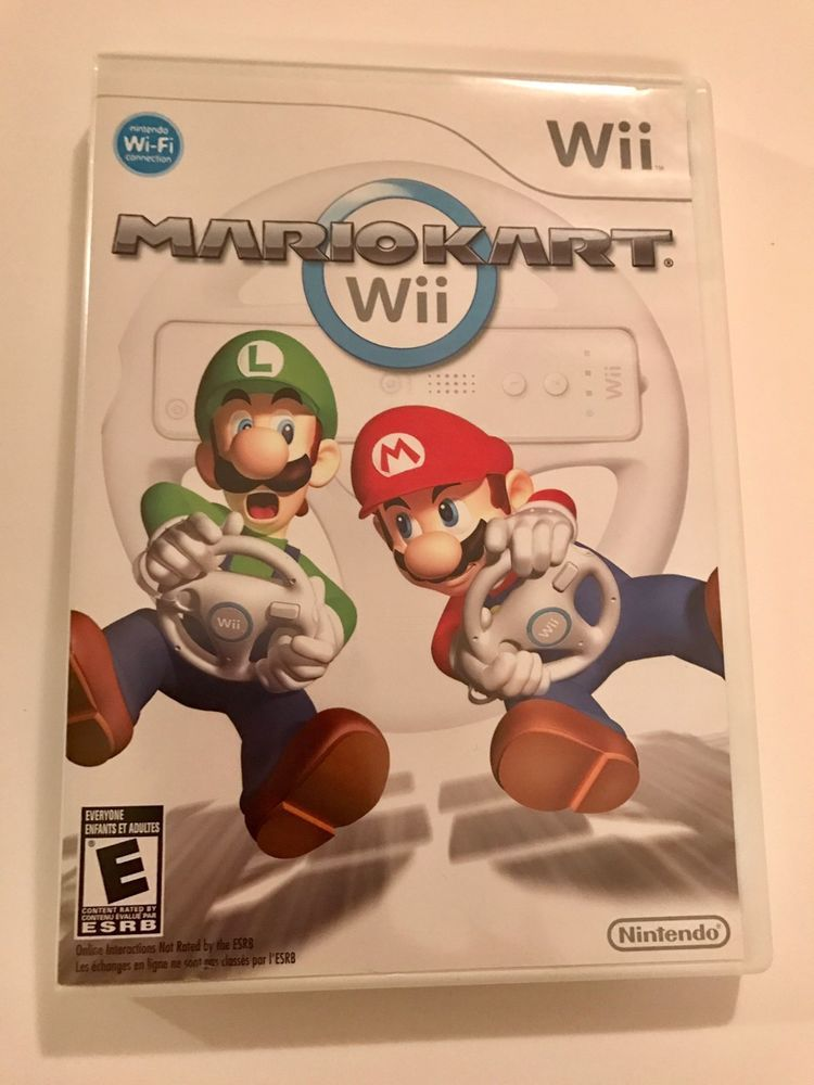 mario kart wii for nintendo wii case game manual tested ebay rh pinterest com Wii Dance Workout Mike Tyson Punch Out Wii