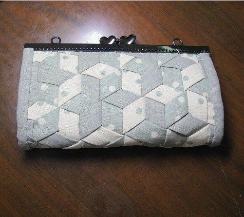 DIY para hacer un bolso de mano patchwork con mosaico | PatronesMil
