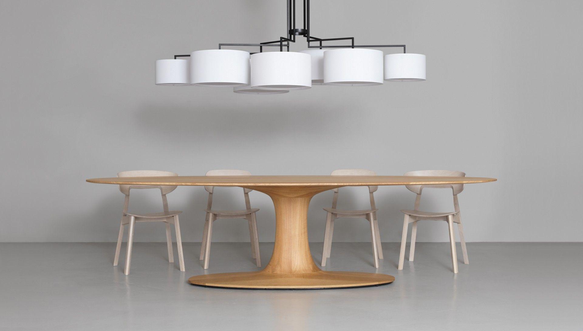 Turntable Oval Dining Room Furniture Modern Interior Furniture