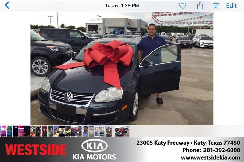 Congratulations Alexander on your Volkswagen Jetta Sedan