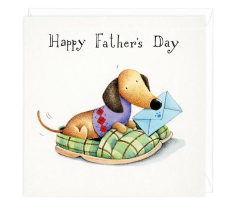 Happy fathers day dachshund greeting card dachshund pinterest happy fathers day dachshund greeting card m4hsunfo