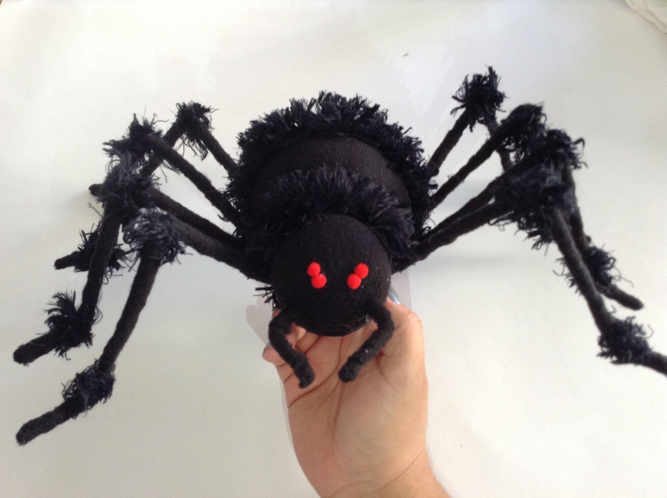 DIY Haz una Araña espeluznante para este Halloween | Halloween ...
