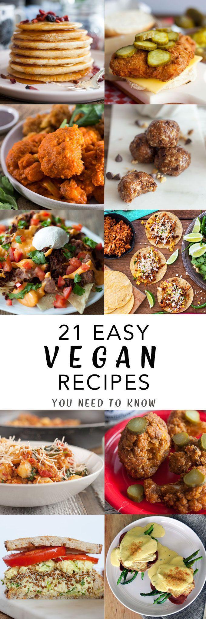 21 Vegan Recipes For 2018 Vege Przepisy Przepisy Napoje