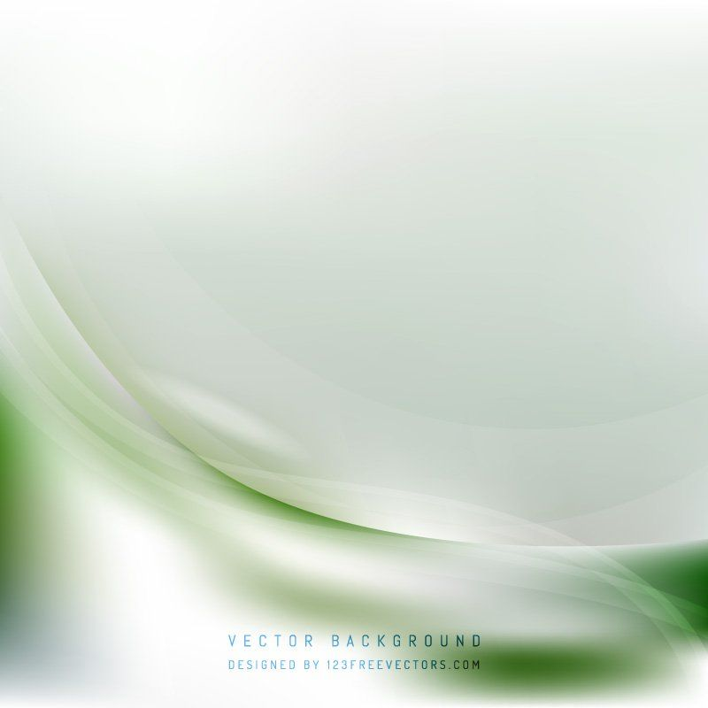 Abstract White Green Wave Background Design In 2020 Waves