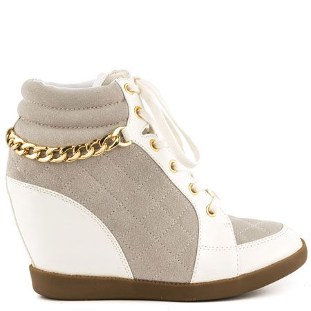 Hevin - White Suede by Guess Shoes