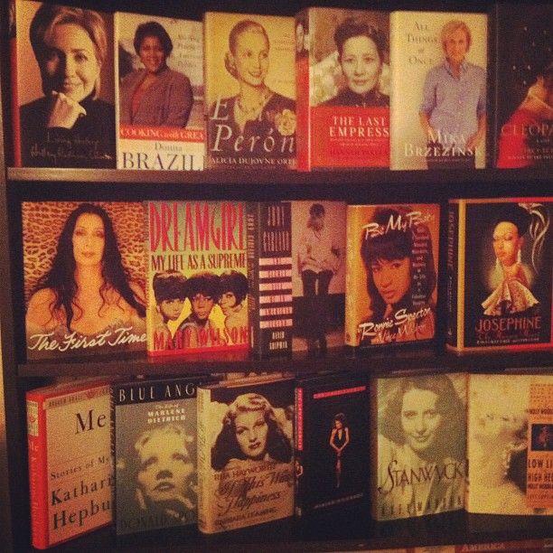 My favorite books of my favorite women.