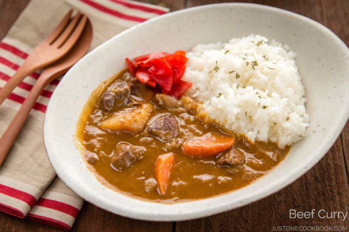 Beef Curry Recipe ビーフカレー Just One Cookbook Beef Curry Recipe Beef Curry Curry Recipes