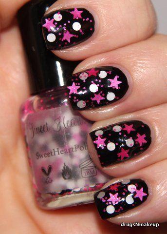 sweet heart polish  pop star  nails nail designs polish