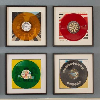 album cover frames | Reno | Pinterest | Wall decor, Bedrooms and Walls