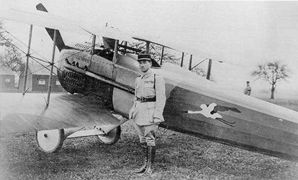 SPAD XII, René Fonck WWI Fighter Aircraft | First World War (WWI ...