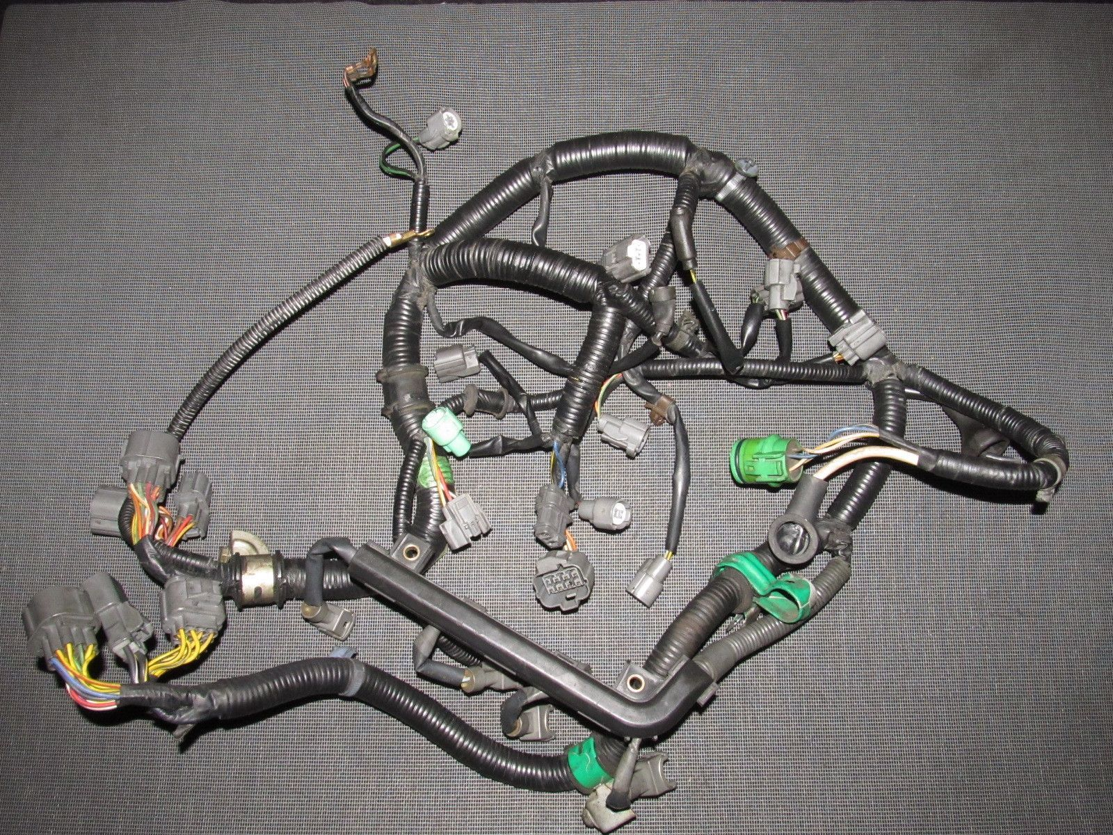 D16z6 Wiring Harness Diagram International Scout Ii 93 94 95 Honda Del Sol Auto Transmission Engine