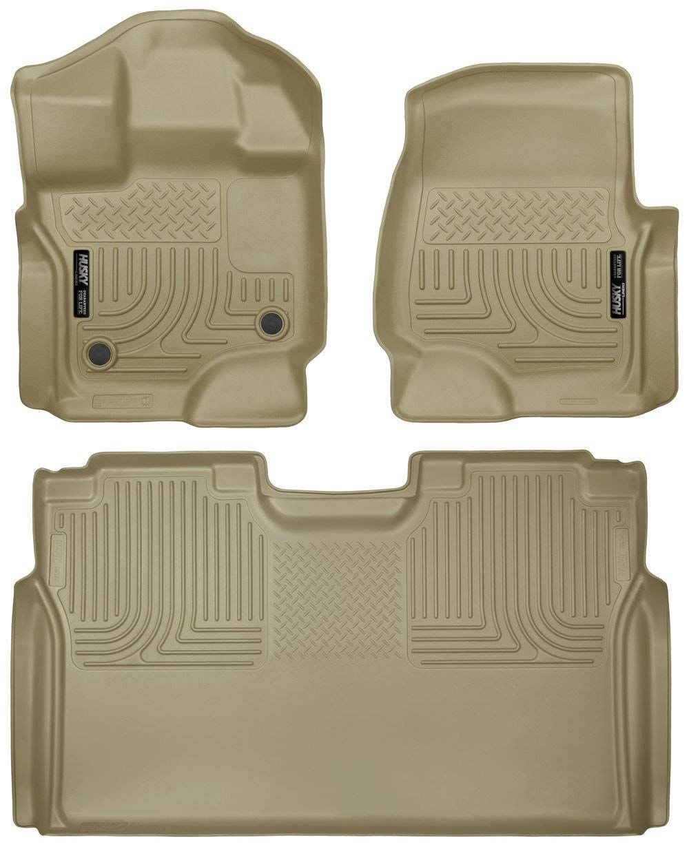 Husky Liners Floor Liners Full Set Includes 1st And 2nd Row Fits